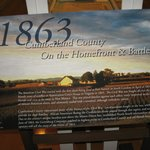 Exhibit:Confederates invaded Cumberland County in June 1863, leading up to Gettysburg Battle