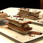 Dessert Millefeuille à la Cazette