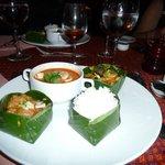 Plat du jour dans menu cambodgien
