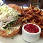 Crispy Pig Ear Sandwich