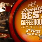 JP's placed 3rd in the America's Best Coffeehouse competition for the midwest!
