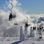 Sky Chair at Cypress Mountain, the Highest Skiing and Riding Peak on Vancouver's North Shore
