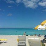 calm and quiet private beach