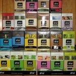 Gran variedad de infusiones ecológicas, tisanas, tés clásicos, infusiones especiales