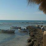 Barques de pêcheurs en bout de plage
