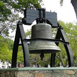Replica of the Liberty Bell in the Park
