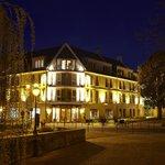 Villa Lara by night