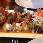 Tiger prawn curry