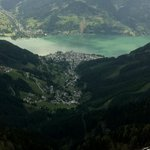 View from top of Scmittenhohe