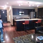 kitchen in suite