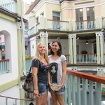 myself and my friend anna from scottland!