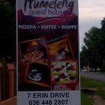 sign board @ itumeleng