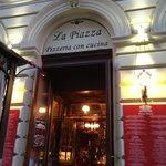 La Piazza entrance