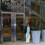 Entrance to Dazzler , at San Martin Street