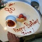 80th birthday Sweet