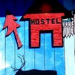 Hostel sign