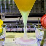Yellow Pepper Martini