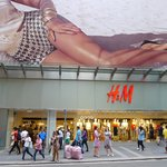 H&M in Central distric - HK