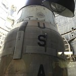 Restored Titan II in its launch silo