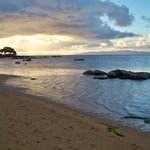 Sunset at Coconut Grove Beach