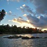 Sunset from Coconut Grove Beach