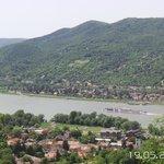 En-route from Esztergom to Visegrad