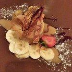 Dessert was tasteful
