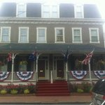 Front of Flag House Inn