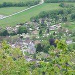 vue du village depuis l'oratoire