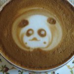 Cappuccino, Panda in froth