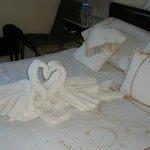 Bedroom Towels Origami