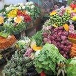 Herrliches Gemüse, Früchte, Obst