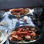 Seafood platter at Cala Sith