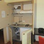 Mini cucina in camera