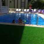 Children in the pool at Princess Kinli
