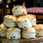 Award winning scones all made in our cafe