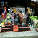 $3 Bloody Mary & Mimosa bar Sunday's