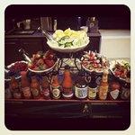 Bloody Mary & Mimosa bar Sunday's