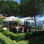 terraza del restaurante, las mejores vistas del valle del genal