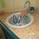 Bathroom Sink at B&B
