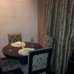 Dining area in room (Prive room)