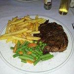 I like pepper with my steak