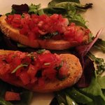 Bruschetta was fresh, lovely and a nice way to start