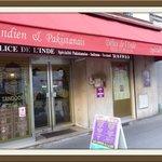 Le restaurant indien situé le long du boulevard.