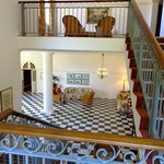 lovely stairways and elegant old furniture