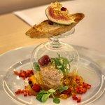 Foie Gras with Sautern gelatin