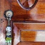 Room key (pretty isn't it?)