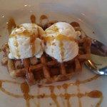 Crunchy waffle