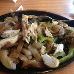 unflavored chicken fajitas