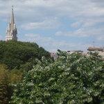 vue de la chambre sur la cathedrale St Anne